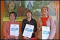Album Sportabzeichen-Ehrung 2013:  20 Prüfungen v.l.n.r.: Kornelia Burger, Beate Melchior, Irmtraud Stuhlmann.